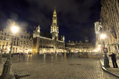 Brussels Grand Place Royalty Free Stock Photos