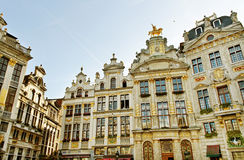 Brussels grand place. Royalty Free Stock Image