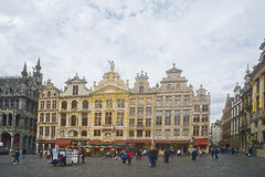 Brussels Grand Place, Belgium Stock Images