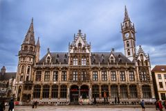 Brussels Grand-Place. In Belgium Royalty Free Stock Images