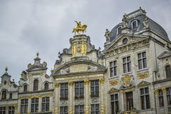 Brussels grand place Stock Images