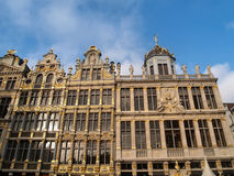 Brussels Grand Plaza Stock Image