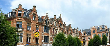 Brussels houses Stock Images