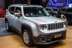 Jeep renegade suv car Royalty Free Stock Images