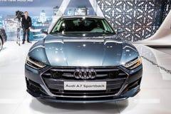 2018 Audi A7 sportback Stock Photography