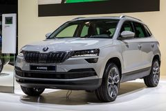 Skoda Karoq car Stock Photo