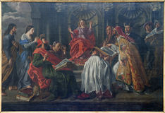Free Brussels - Jesus At Age 12 Teaching In The Temple Stock Images - 27777664