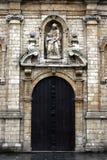 brussels kyrkliga madeleine royaltyfri bild