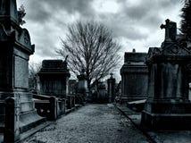 brussels kyrkogård laeken Royaltyfri Foto