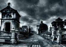 brussels kyrkogård laeken Arkivbild