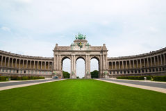brussels landmark royaltyfri bild