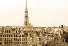 brussels landmark royaltyfri foto