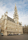 Brussels - The main square and Town hall Royalty Free Stock Images