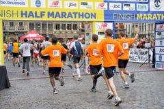 Brussels Marathon stock photos