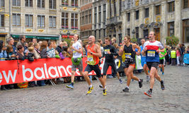 Brussels Marathon royalty free stock photo