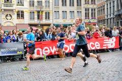 Brussels Marathon stock image