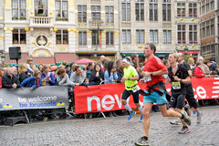 Brussels Marathon royalty free stock image