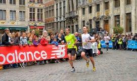 Brussels Marathon and Half Marathon Stock Images