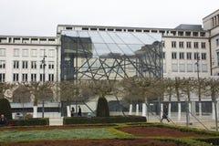 Brussels modern art Royalty Free Stock Photo