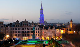 Brussels Mont des Arts Stock Photos