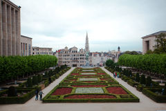 Brussels Mont des arts royalty free stock photo