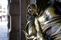 brussels monument serclaes t Στοκ Φωτογραφία