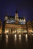 Brussels night Stock Photography