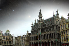 Brussels night. Stock Images