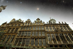 Brussels night. Royalty Free Stock Image