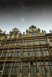 Brussels night. Stock Photos
