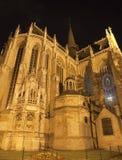 Brussels - Notre Dame du Sablon chruch Royalty Free Stock Photo