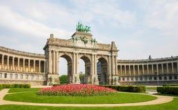 Brussels - Parc du Cinquantenaire in the European Quarter Stock Photo