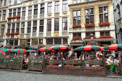 Brussels restaurant Royalty Free Stock Photography