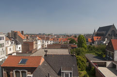Brussels roofs Royalty Free Stock Photo