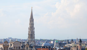Brussels roofs Stock Photography