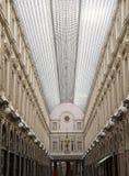 Brussels royal galleries. Royal Galleries of Saint-Hubert in brussels Royalty Free Stock Image