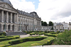 Brussels Royal Palace ages 18-19. Belgium stock images