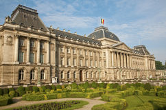 Brussels - The Royal Palace, Belgium. Brussels - The Royal Palace in morning light, Belgium Royalty Free Stock Photography