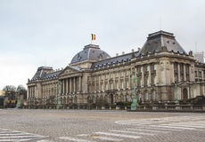 Brussels. The Royal Palace. Stock Photography