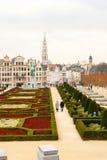 Brussels skyline Stock Images