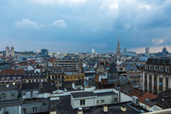 Brussels skyline Royalty Free Stock Photography