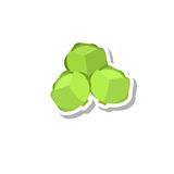 Brussels sprout icon Royalty Free Stock Photography