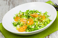Brussels Sprout and Tangerine Salad Royalty Free Stock Image