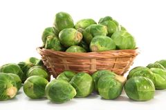 Brussels sprouts Stock Image