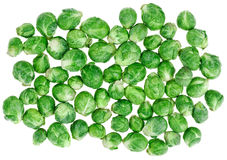 Brussels sprouts background Stock Photography