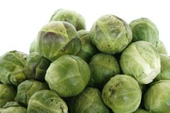 Brussels sprouts /Brussels cabbage/ Stock Photography