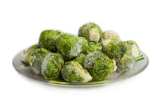 Brussels sprouts cabbage Stock Images