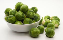 Brussels sprouts cabbage Stock Photos