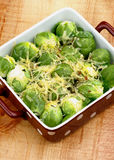 Brussels Sprouts Casserole Royalty Free Stock Photography
