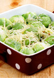 Brussels Sprouts Casserole Royalty Free Stock Image